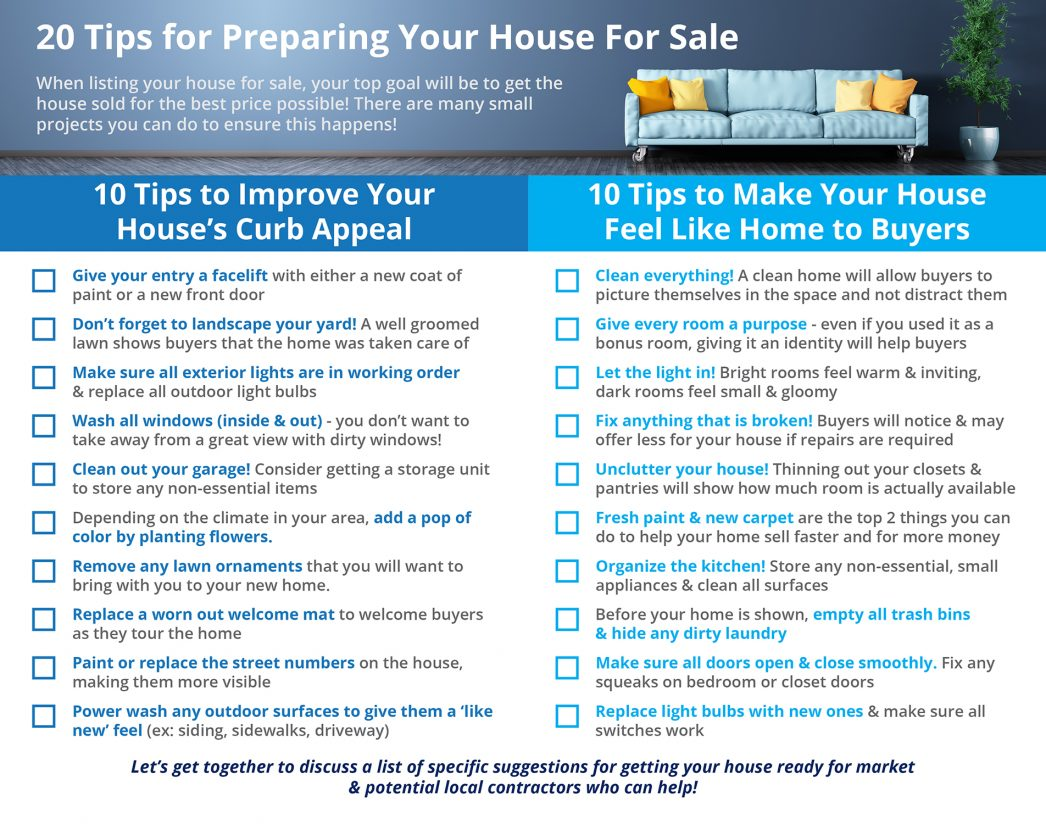 20 Tips For Preparing Your House This Fall Infographic
