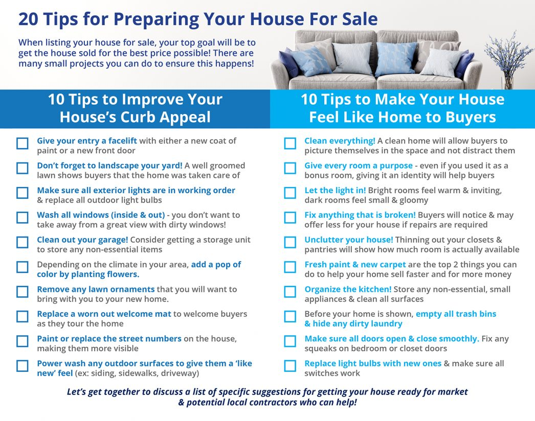 Selling Your Home Quick Tips