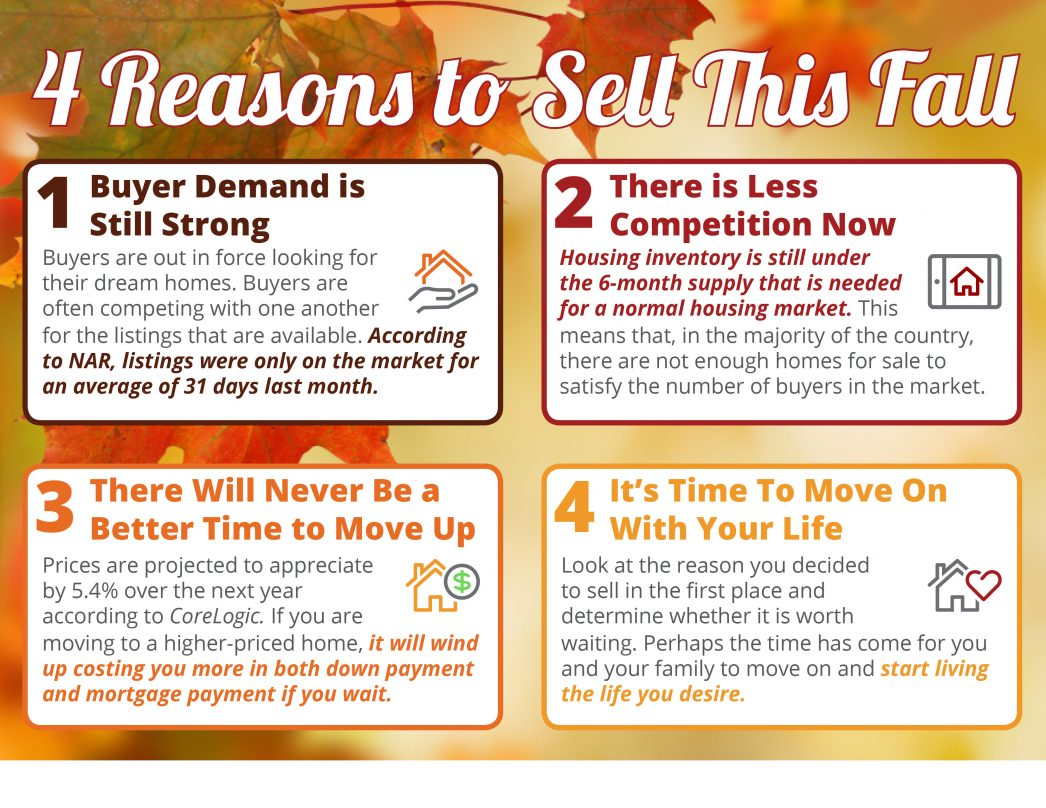 4 Reasons to Sell This Fall In Utah With Utah Realty
