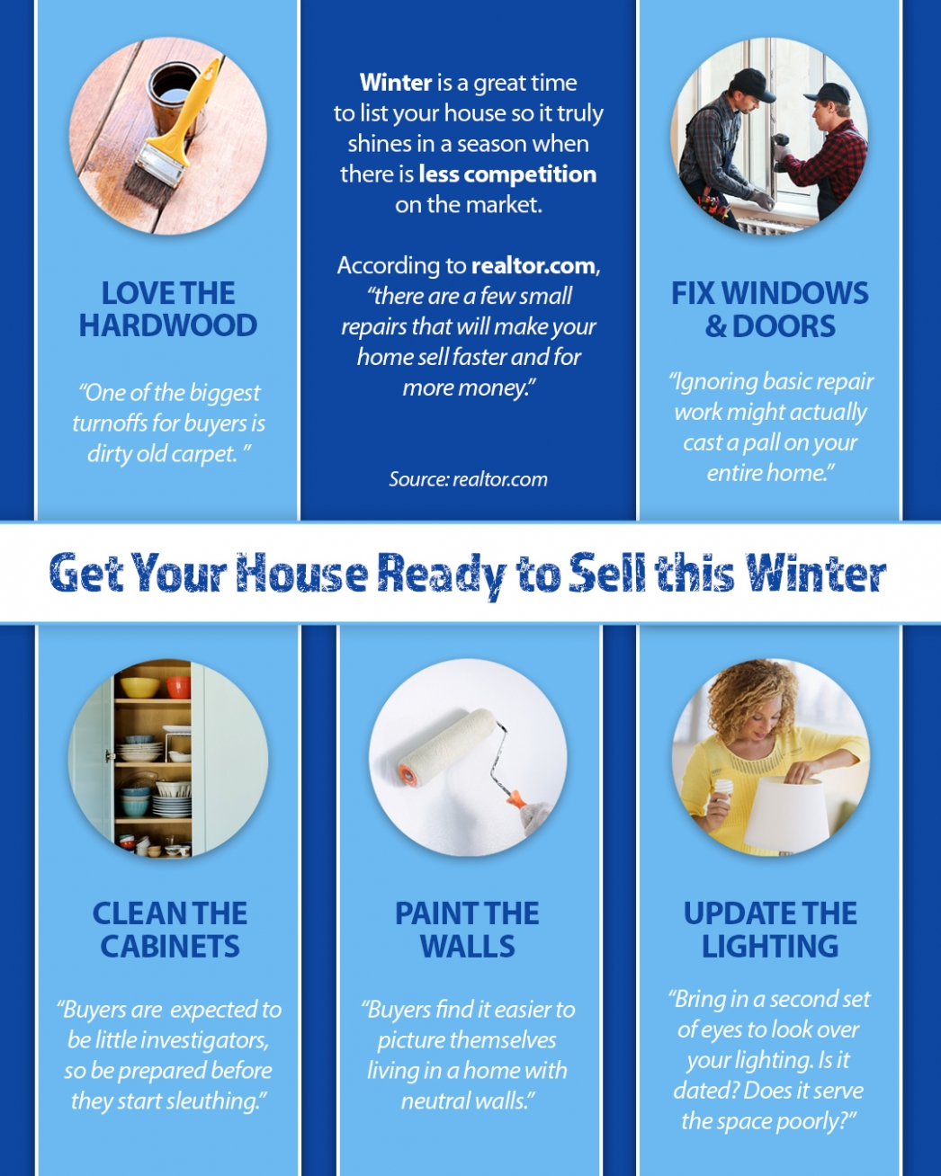 Get Your House Ready To Sell This Winter – Utah Realty