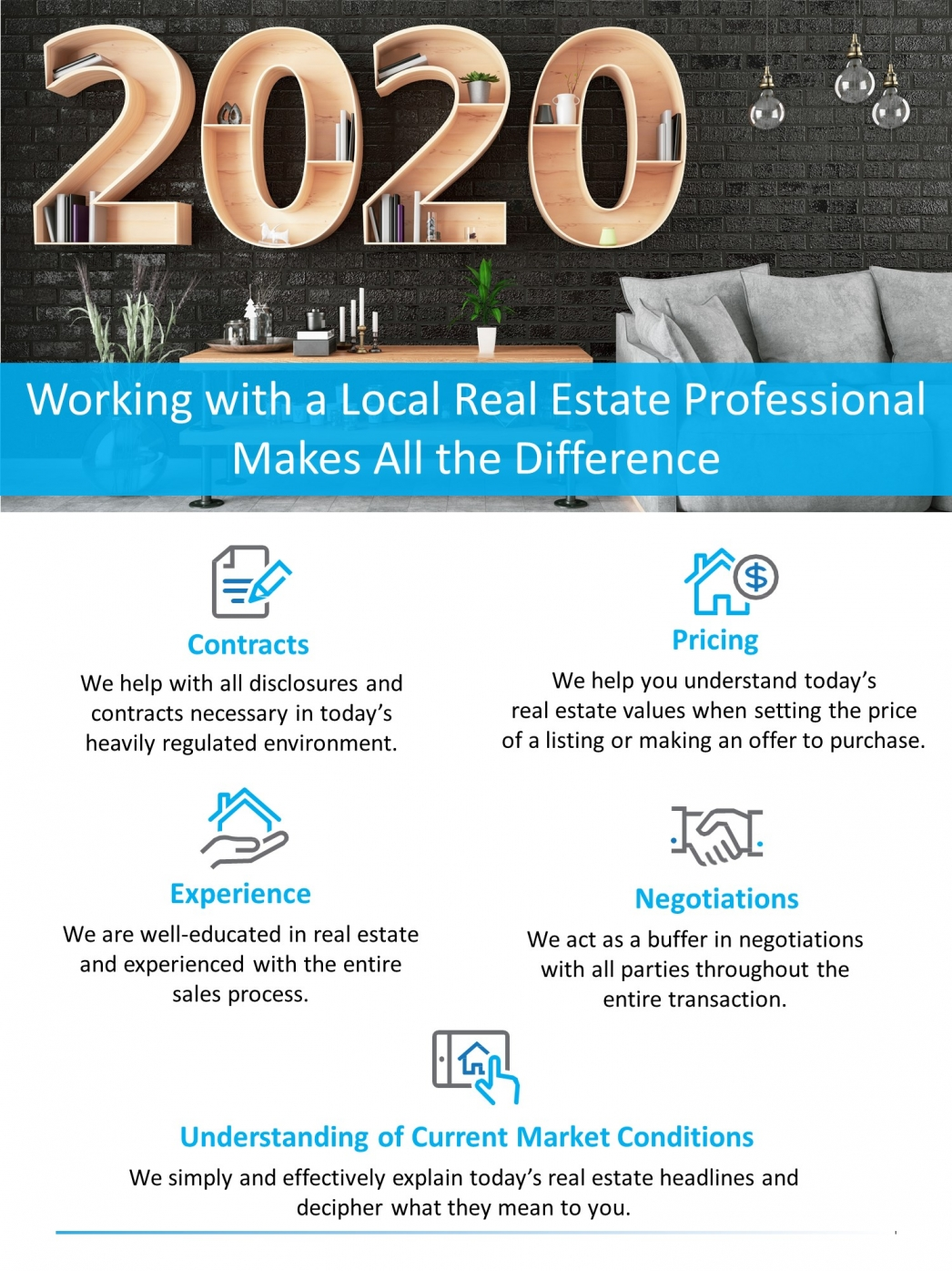 Working with a Local Real Estate Professional Makes All the Difference [INFOGRAPHIC] | MyKCM