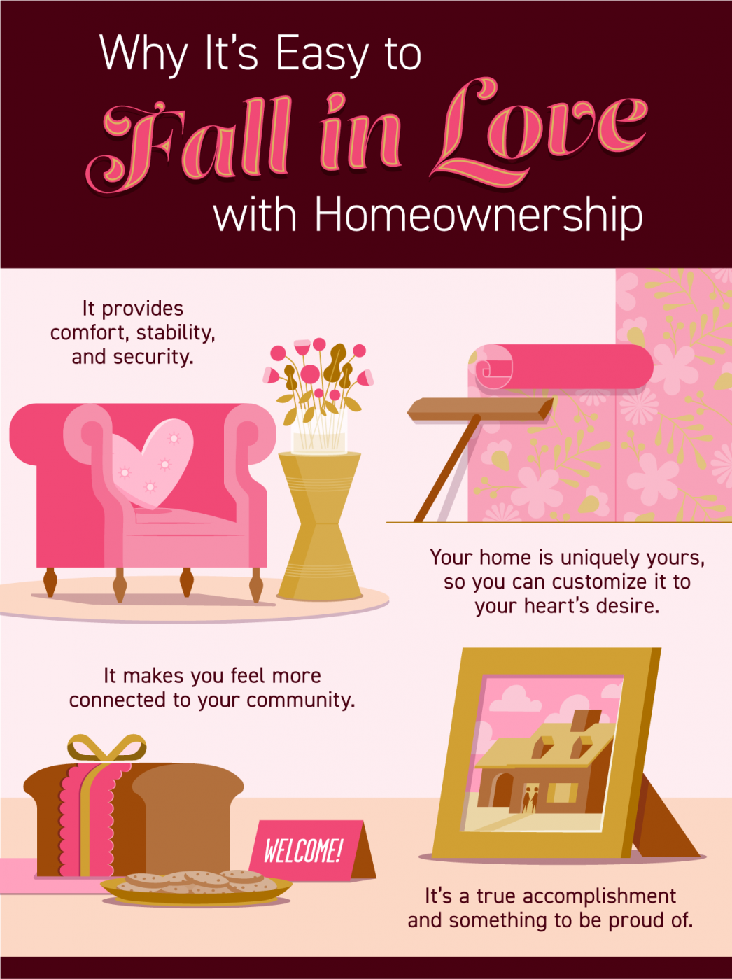 Why It's Easy to Fall in Love with Homeownership [INFOGRAPHIC] | MyKCM